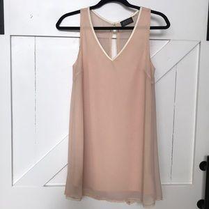ASTR light pink flowy dress